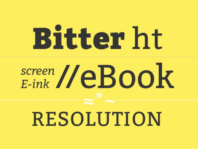 Bitter ht бесплатный шрифт от Huerta Tipográfica