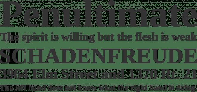 Liberation Serif бесплатный шрифт от Red Hat