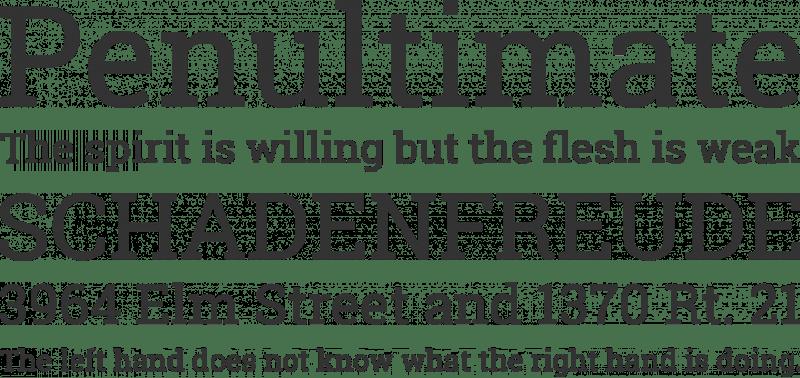 Roboto Slab бесплатный шрифт от Christian Robertson