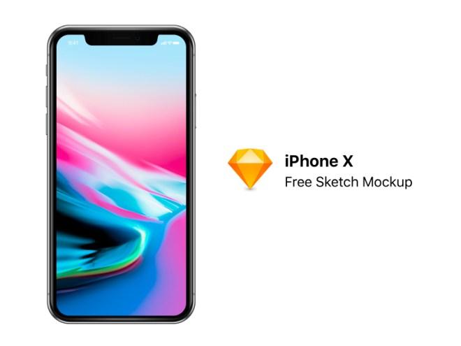 Free iPhone X Mockup (FREE SKETCH)