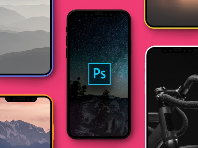 iPhone X Mockup PSD Freebie