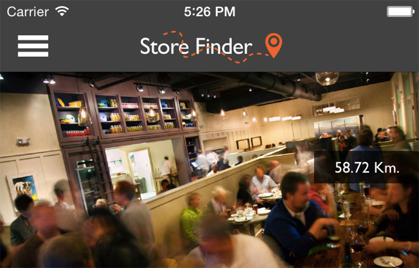 Store Finder Full iOS Application v2.1