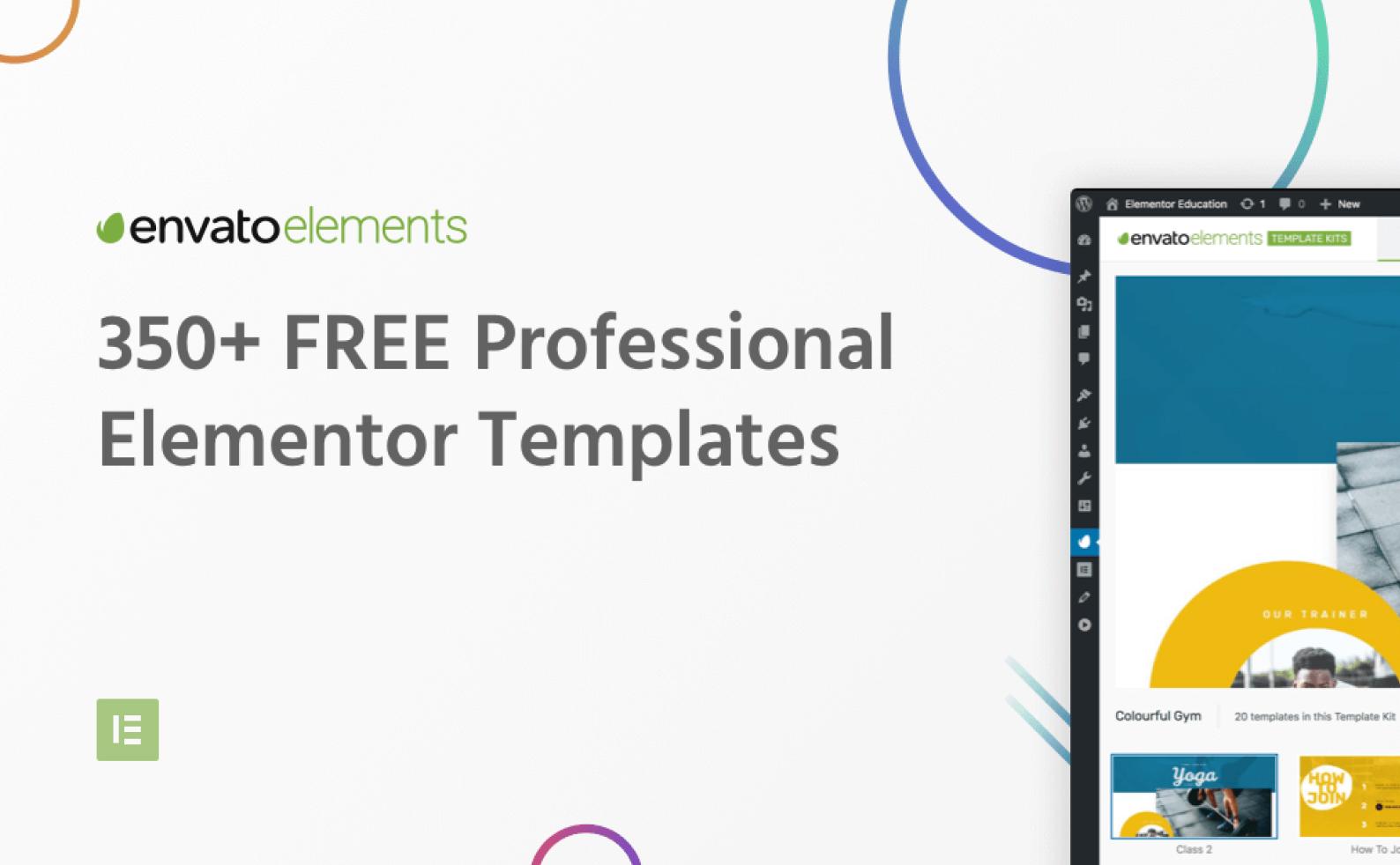 Envato Elements: Новый, перспективный плагин для шаблонов