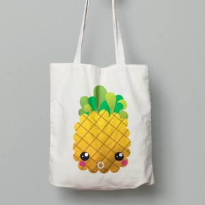 TFP Logo Pineapple Tote Bag
