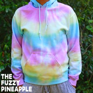 Striped Pastel Rainbow Hoodie