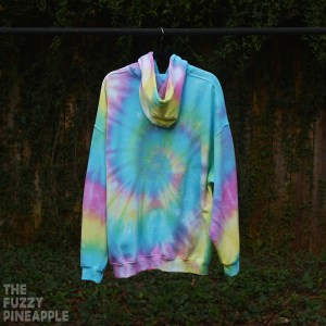 2XL Rainbow Swirl Hoodie RTS