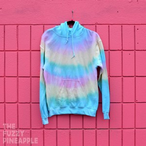 S – Rainbow Stripe Hoodie RTS