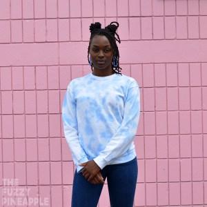 Pastel Periwinkle Crew Neck Sweatshirt