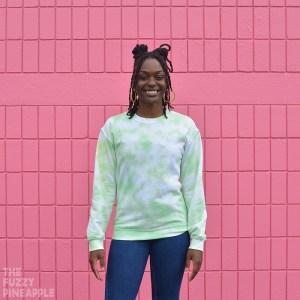 Pastel Green Crew Neck Sweatshirt