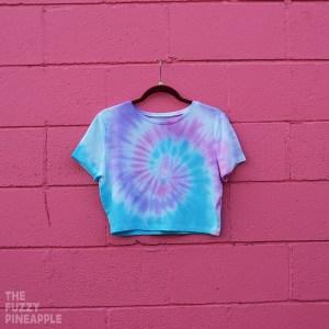 2XL – Tie Dye Crop Top RTS