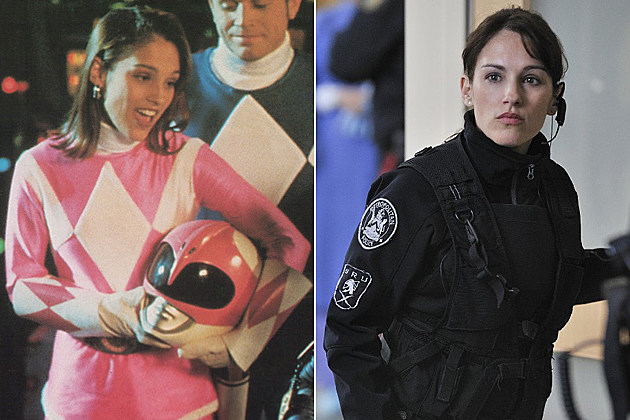 Image result for pink power ranger then and now
