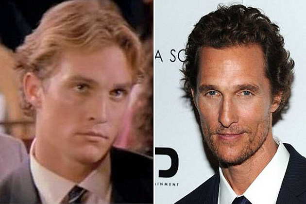 Image result for matthew mcconaughey then and now