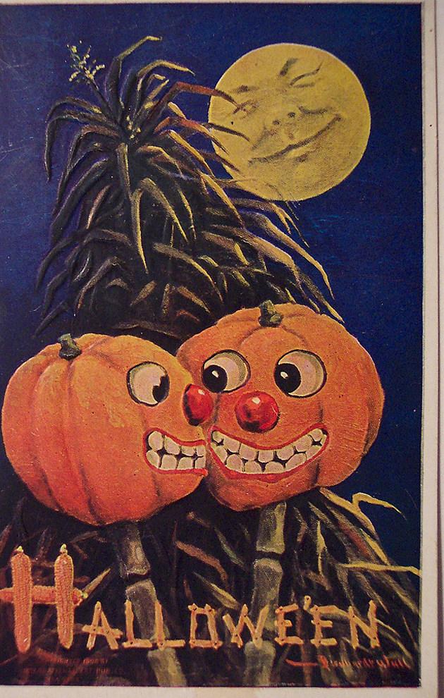 18 Spooky Vintage Halloween Cards