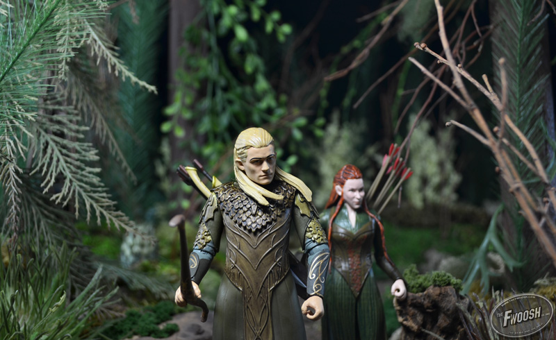 First Look The Hobbit Legolas Greenleaf And Tauriel
