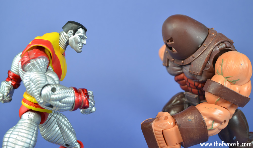 Colossus Vs Juggernaut X Men