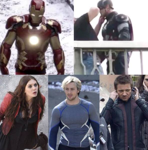 Avengers Age of Ultron Leaked Picture