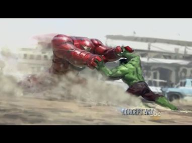 Marvel's Age of Ultron Hulkbuster Concept Art