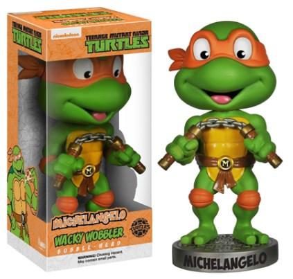 Funko Teenage Mutant Ninja Turtles Wacky Wobblers Michelangelo