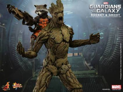 Hot Toys Guardians of the Galaxy Groot and Rocket 1