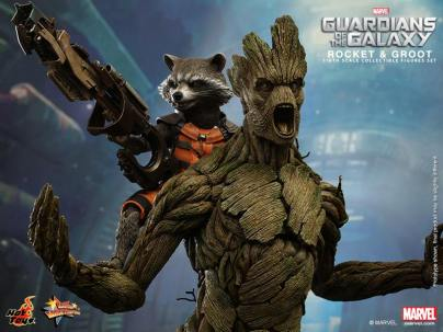 Hot Toys Guardians of the Galaxy Groot and Rocket 2
