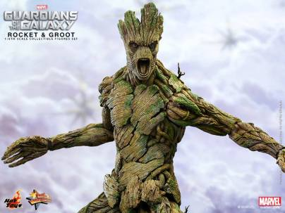 Hot Toys Guardians of the Galaxy Groot and Rocket 5