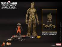 Hot Toys Guardians of the Galaxy Groot and Rocket 6