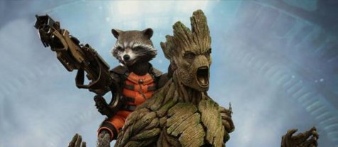 Hot Toys Guardians of the Galaxy Groot and Rocket Featured