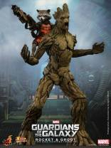 Hot Toys Guardians of the Galaxy Groot and Rocket