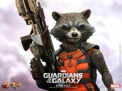 Hot Toys Guardians of the Galaxy Rocket Raccoon 7
