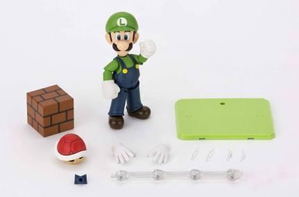 Bandai S.H. Figuarts Luigi Big 7