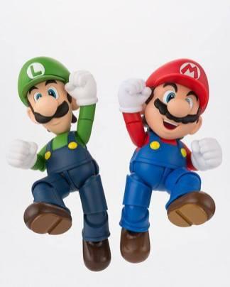 Bandai S.H. Figuarts Luigi Big 9