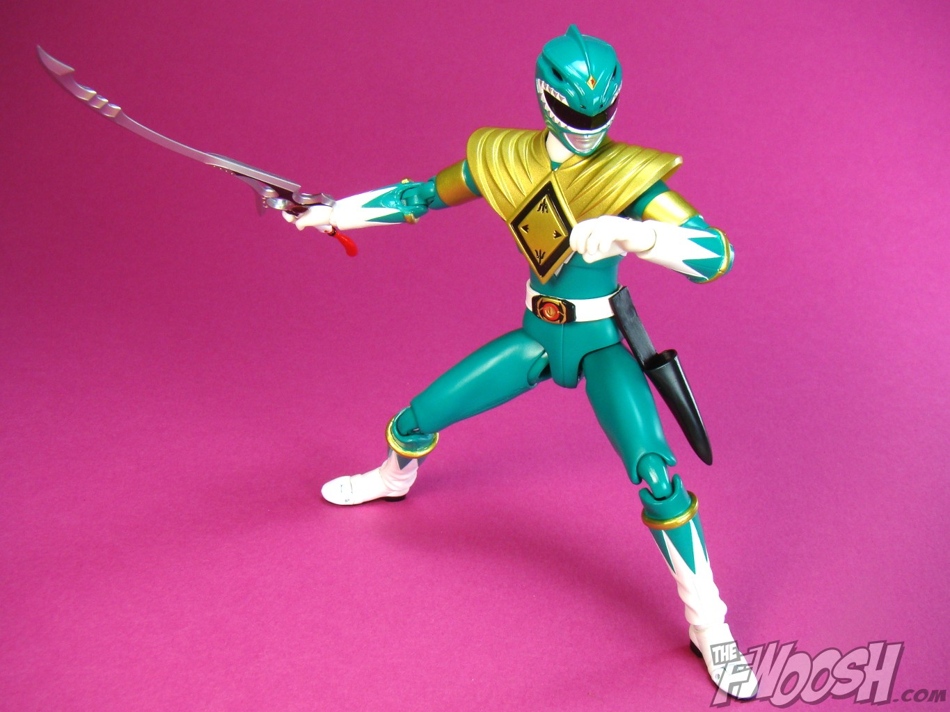 S H  Figuarts Green Power Ranger Review |