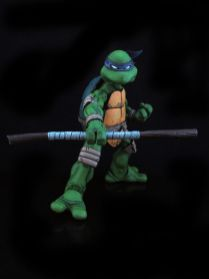 CUSTOM NECA Donatello TMNT Ninja Turtles Comic Style 1