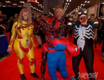 NYCC2014 cosplay - Carnage, Venom and