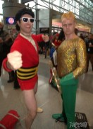 NYCC2014 cosplay - Plastic Man and Aquaman