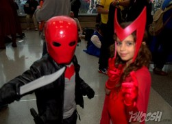 NYCC2014 cosplay - Red Hood and Scarlet Witch