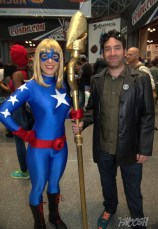 NYCC2014 cosplay - Stargirl and Starman