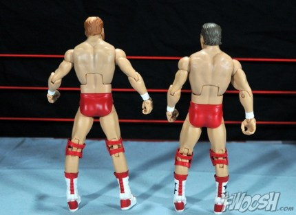 Four Horsemen figure review - Arn and Tully rear