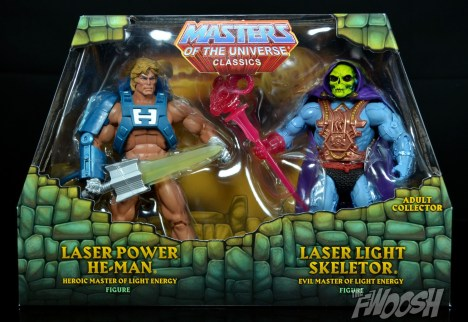 Laser Light Skeletor Occhi di fuoco MOTUC