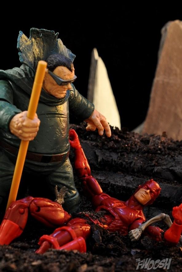 Daredevil vs. Mole Man