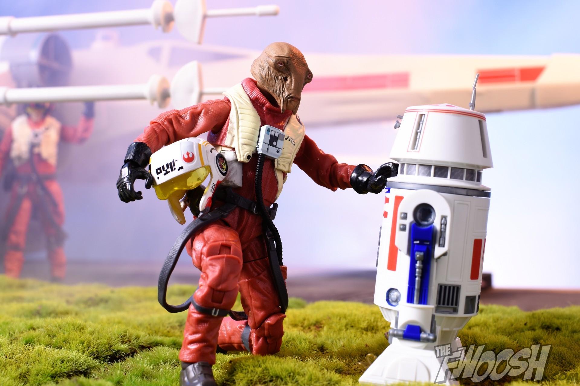 Hasbro Star Wars The Force Awakens Black Series Ello Asty Fwoosh Top 10