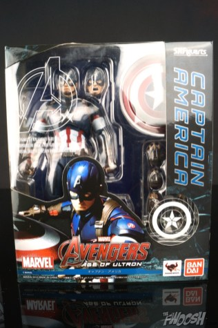 Bandai S.H. Figuarts Avengers Age of Ultron Captain America 10