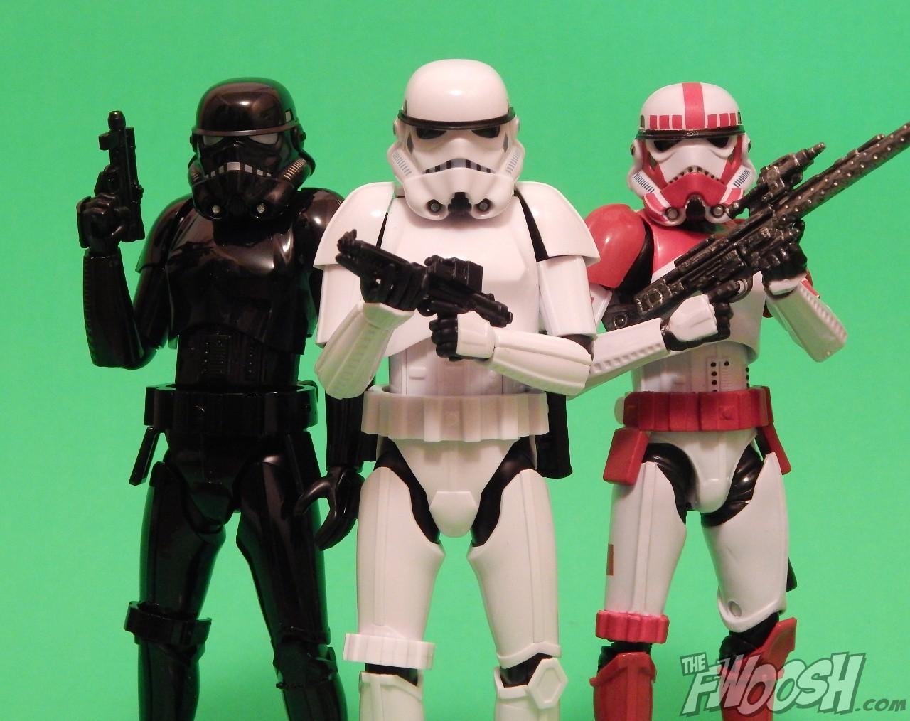 Bandai: Star Wars Shadow Stormtrooper 1:12 Scale Model Kit Review  