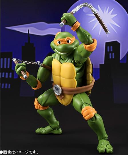 Bandai Tamashii Nation SH Figuarts Teenage Mutant Ninja Turtles Promo Michelangelo 1
