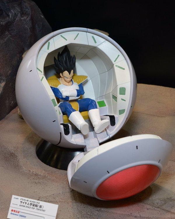 Figure-rise Mechanics Saiyan/'s Space ship Vegeta Pod Dragon Ball Z Bandai NEW***