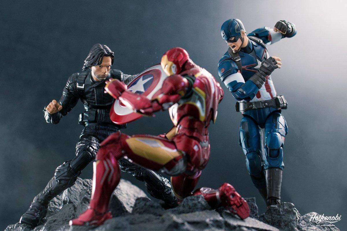 2016 New Captain America Civil War Marvel Legends Man Action Figure Soldier Cool