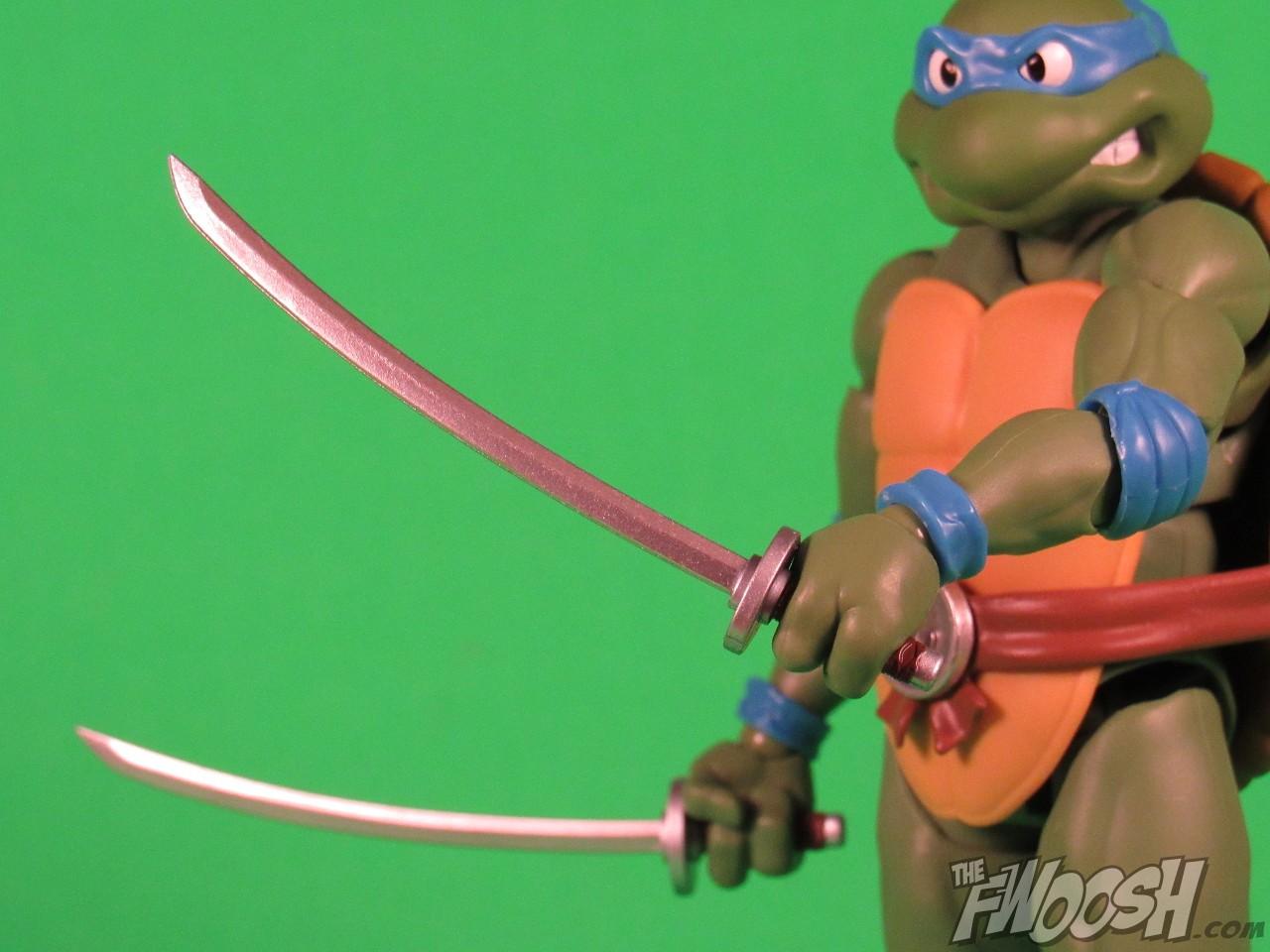 bandai s h figuarts teenage mutant ninja turtles leonardo the fwoosh