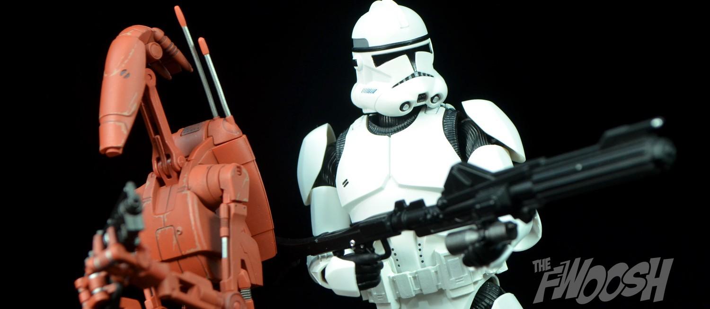 STAR WARS Figuarts Action Figure Bandai Battle Droid Geonosis Color S.H