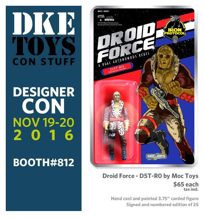 DKE Toys at Designer Con 2016 | The Fwoosh
