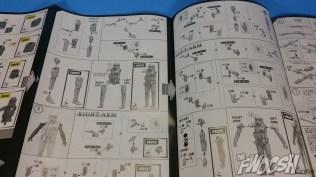 Bandai Star Wars Rogue One Model Kit Death Trooper Instructions 01